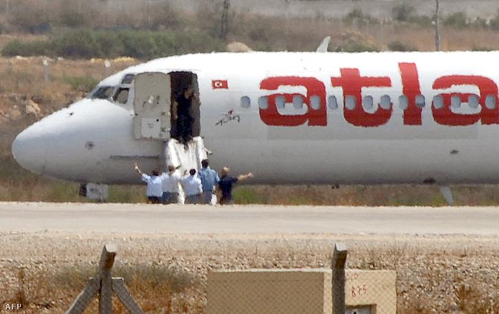 Al-Kaida terroristák rabolták el a török Atlas légitársaság egyik gépét 2007 augusztusában