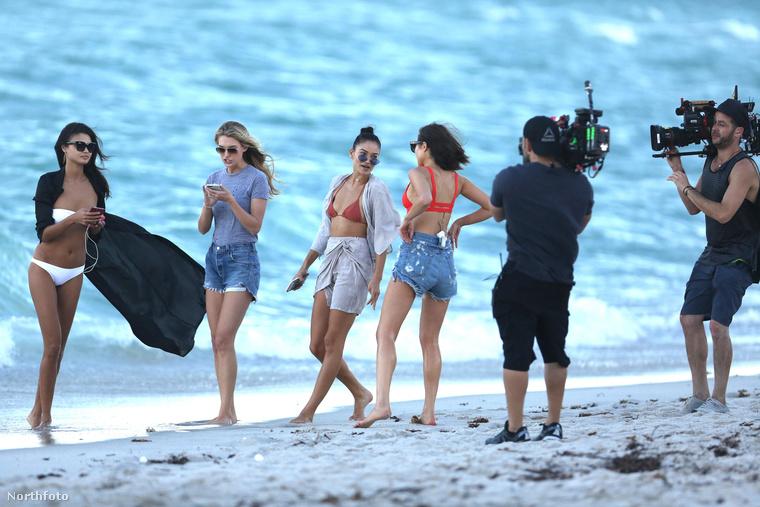Ezek a képek tegnap készültek Miami egyik strandján