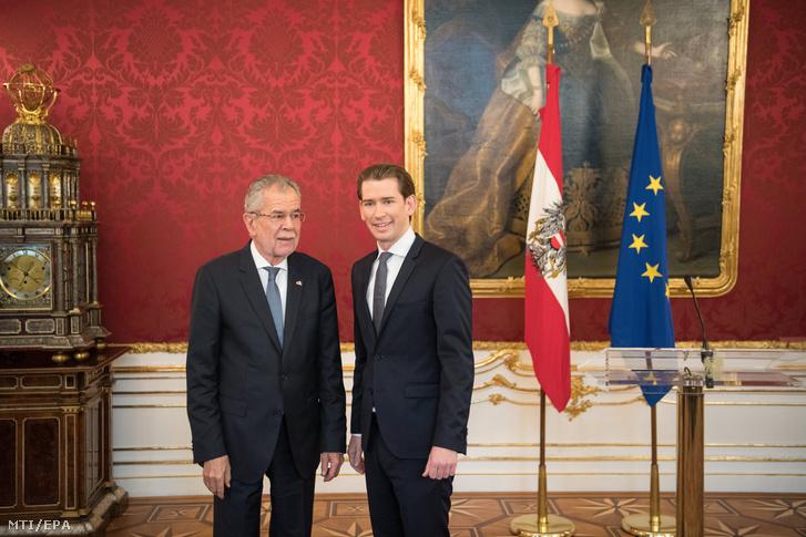 Alexander van der Bellen osztrák államfő megbízta a kormányalakítással Sebastian Kurzot, a a választásokon győztes Osztrák Néppárt (ÖVP) elnökét.