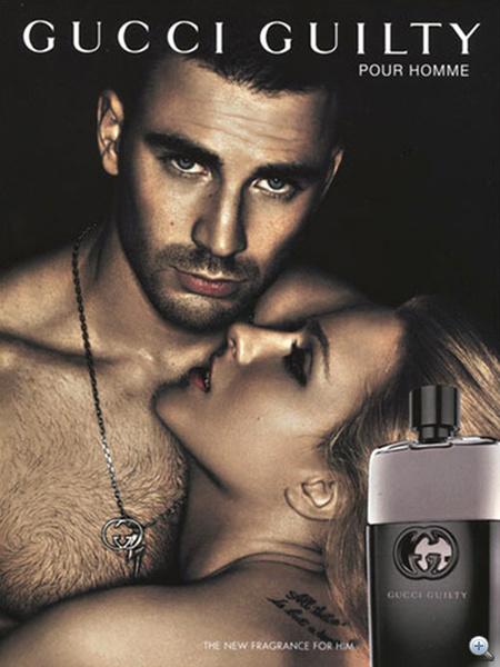 A Gucci Guilty kampány legújabb fotója, rajta Chris Evans és Evan Rachel Wood