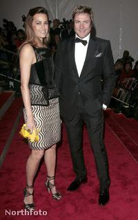 Simon Le Bon és Yasmin Parvaneh
