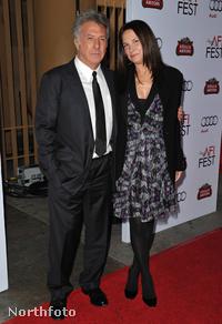 Dustin Hoffman és Lisa Gottsegen
