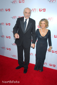 Sean Connery és Micheline Roquebrune
