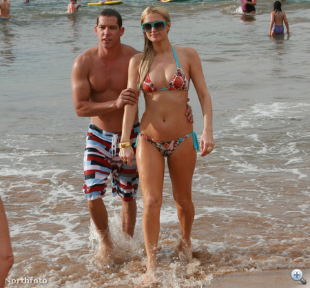 Paris Hilton és Cy Waits Mauin