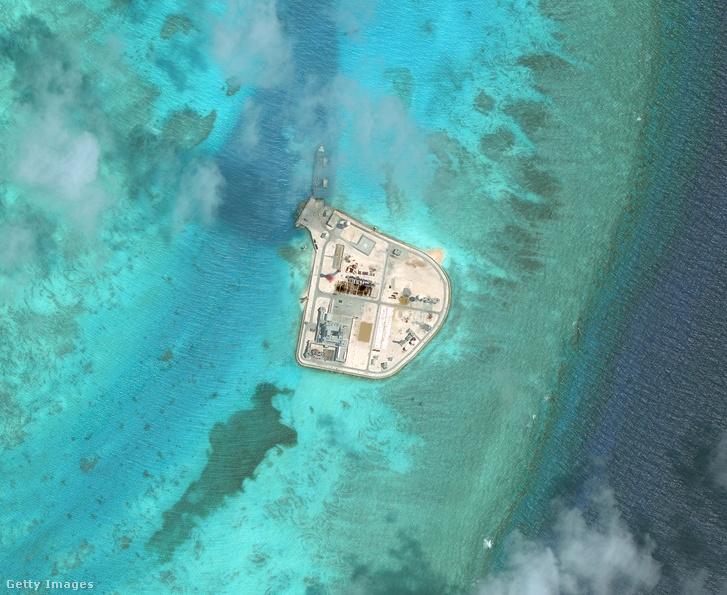 Yongshu-zátony a Dél-kínai-tengeren