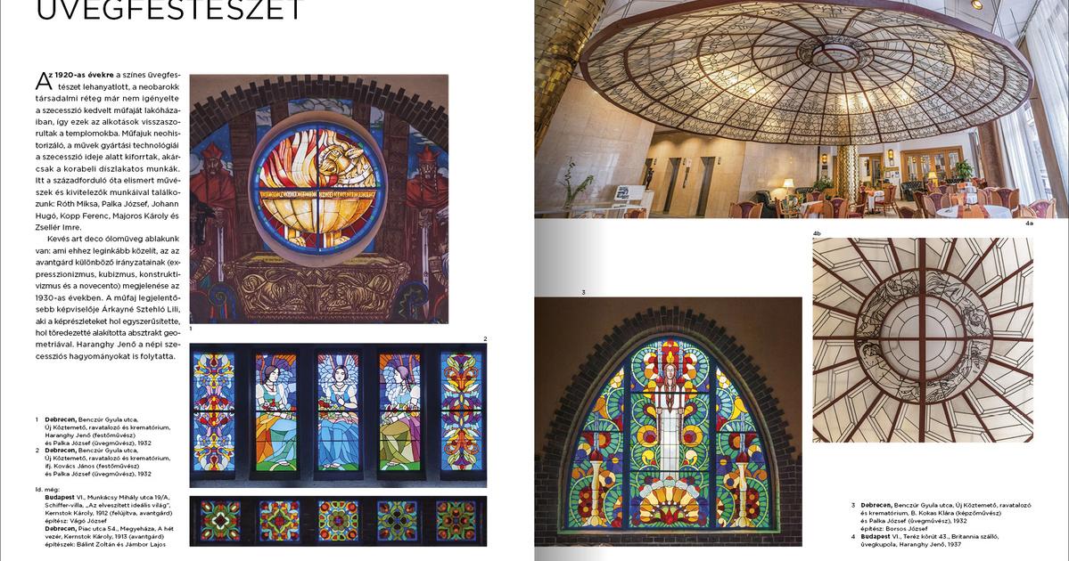 Magyar art deco üvegművészet