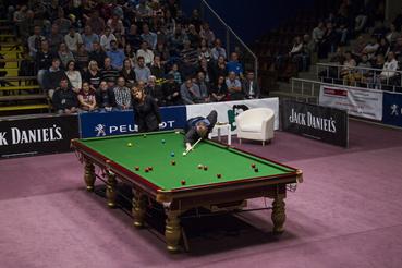 A kétszeres világbajnok Mark Williams.