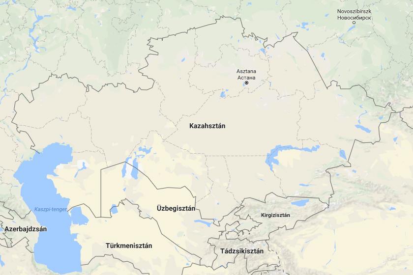 A geoglifák Kazahsztán északi részén, a Turgai régióban terülnek el.