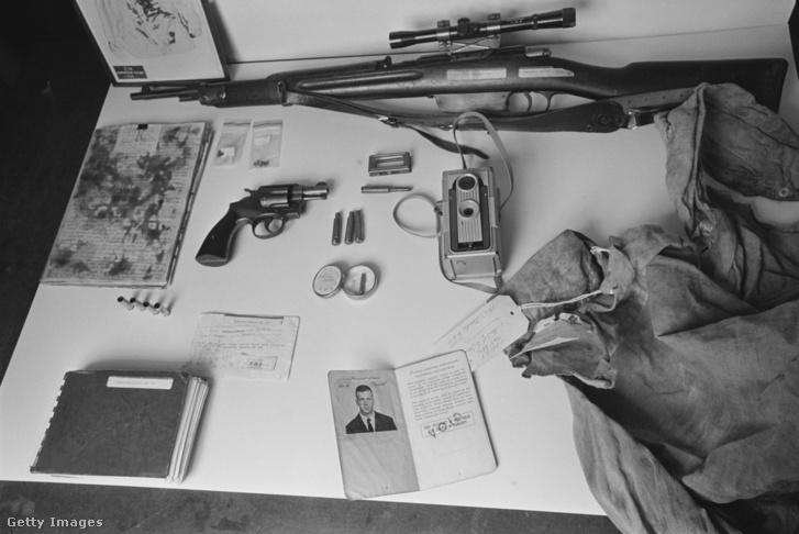 A gyilkosságnál használt tárgyak