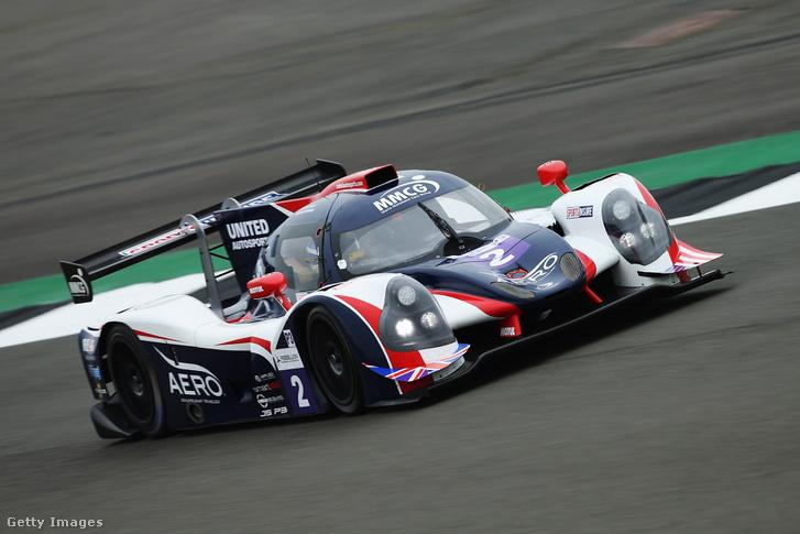 A United Autosports Ligier-je az Európai Le Mans-sorozatban. Ilyet vezethet majd Alonso Daytonában.