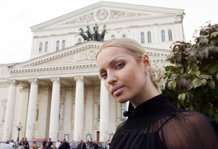 Anastasia Volochkova 2003-ban a Bolsoj előtt