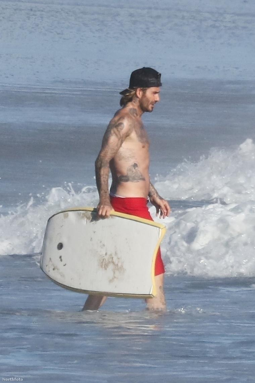 David Beckham 42 éves.