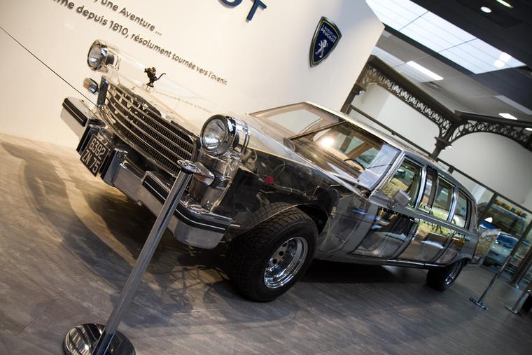A LimoVian szintén filmes autó, a Tajtékos napokban szerepelt