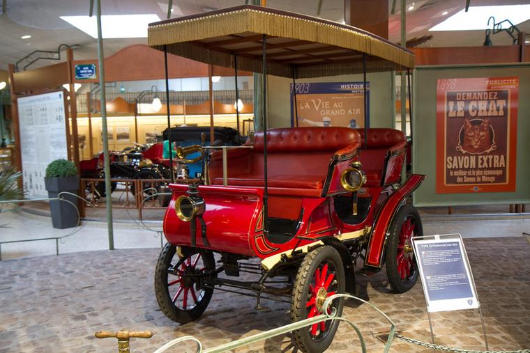 A Type 33 abból a korból származik, amikor Franciaország volt a világ vezető autógyártója