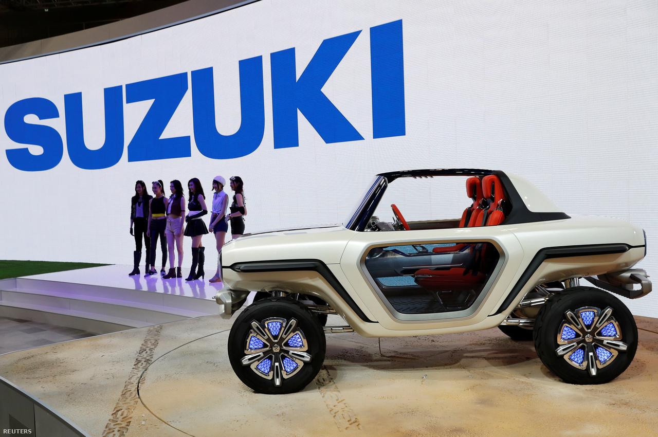 A Suzuki elektromos koncepcióautója, az e-Survivor a lakossági szabadidős terepjárók piacára szeretne betörni.