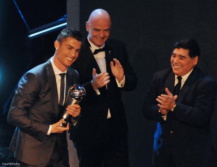 Ronaldo megnyerte a legjobb férfijátékos díját, amennyiben ez felizgat/meglep bárkit is.
