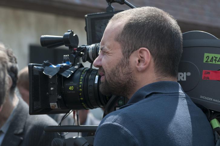A kamera mögött a Saul fia forgatásán