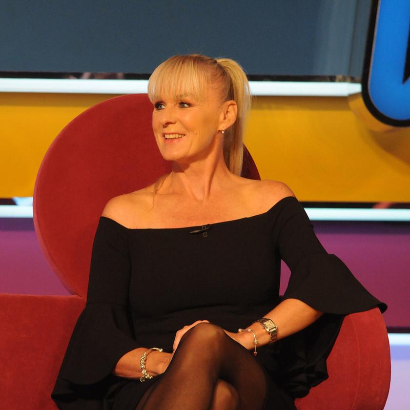 Temesvári Andrea teniszsztár a TV2 Vigyázat, Gyerekkel vagyok! című műsorában.