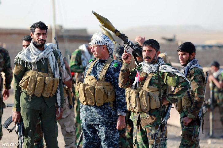 Iraki síita fegyveresek