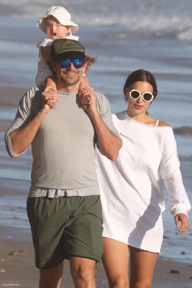 Bradley Cooper és Irina Shayk mostanában sokszor mozdul ki úgy otthonról, a gyerekkel, hogy pont arra jár néhány fotós is