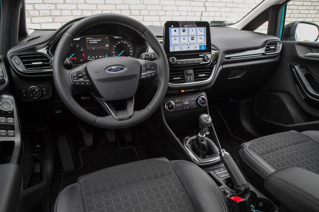 Két méretű tablettel kapható a Fiesta, mindkettő feláras. Ez a nagyobb, a 8 collos