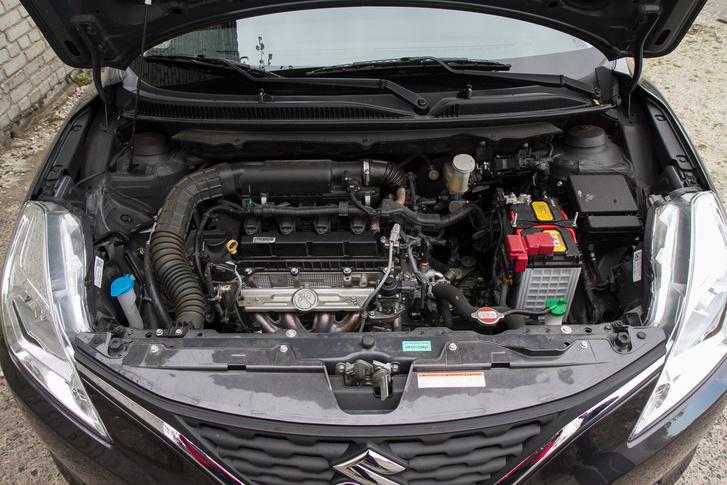 A Suzukinak is van ezres turbómotorja, de ezzel lényegében eladhatatlanná tennék a Balenót. Ez az 1,2-es bőven elég hozzá, és alig fogyaszt