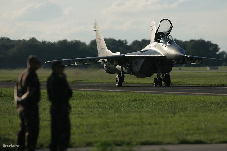 A 2008-as kecskeméti repülőnapon láthatta a nagyközönség utoljára a magyar MiG-29-eseket