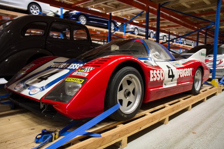 Nemcsak raliban voltak érdekeltek a franciák: 1981-ben ezzel az autóval indultak a Le Mans-i 24 óráson