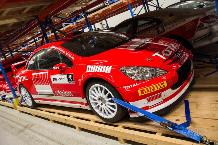 A 307 WRC ugyan világbajnoki címeket nem, de futamgyőzelmeket hozott a gyárnak