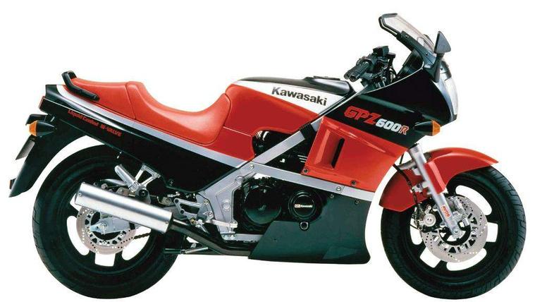 Kawasaki GPZ600R 85  2