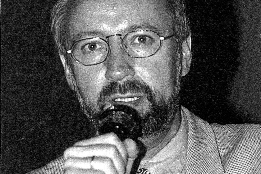 Dr. Johannes Fiebag, a leletek egykori fő vizsgálója.