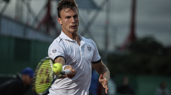 Hihetetlen teniszbravúr: Fucsovics háromszoros Grand Slam-győztest vert