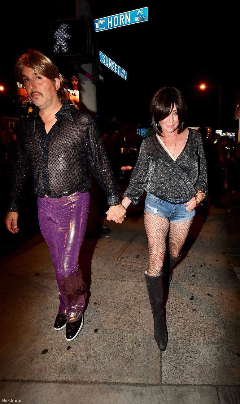 Örömmel láttuk, hogy Shannen Doherty is kimozdult a férjével bulizni egyet,