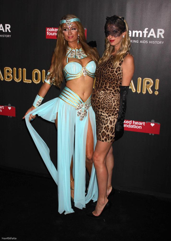 Paris Hiltonnak nem tudjuk eldönteni, hogy a testvére, Nicky Hilton áll jobban,