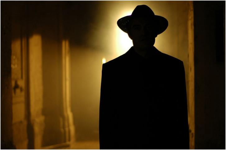 Gigor Attila A nyomozó című filmjének egy jelenete