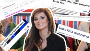 Sarka Kata nem vonul vissza a szerepléstől