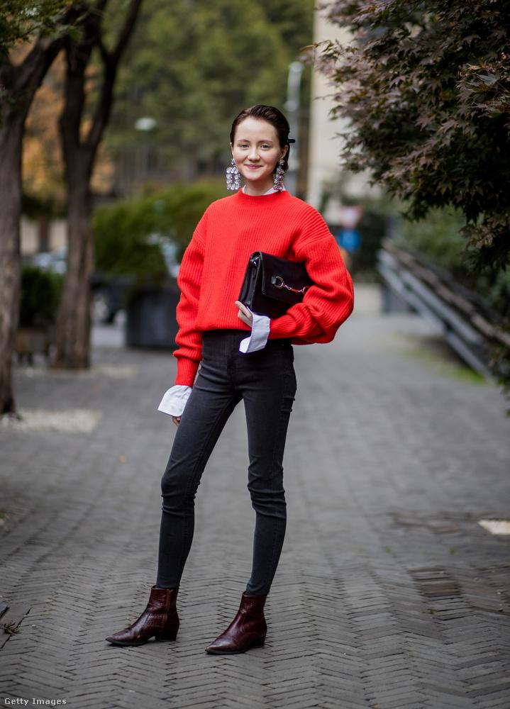 Idén mindennél menőbb a pulóver, próbáljuk ki azzal is a farmert az ősszel.