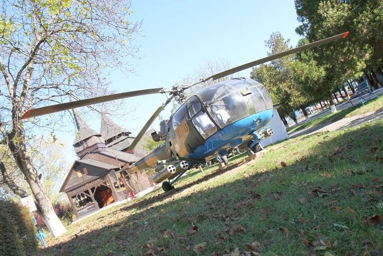 Az IAR 316 B román gyártású helikopter: Brassóban készült