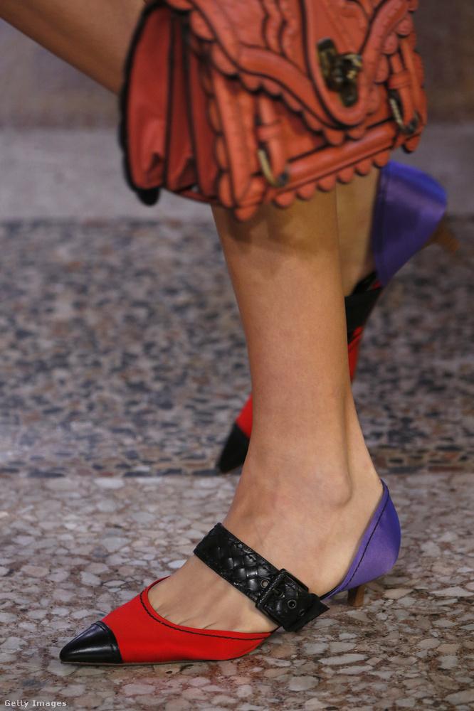 Szerettük a Bottega Veneta cipőit is a szezonban.