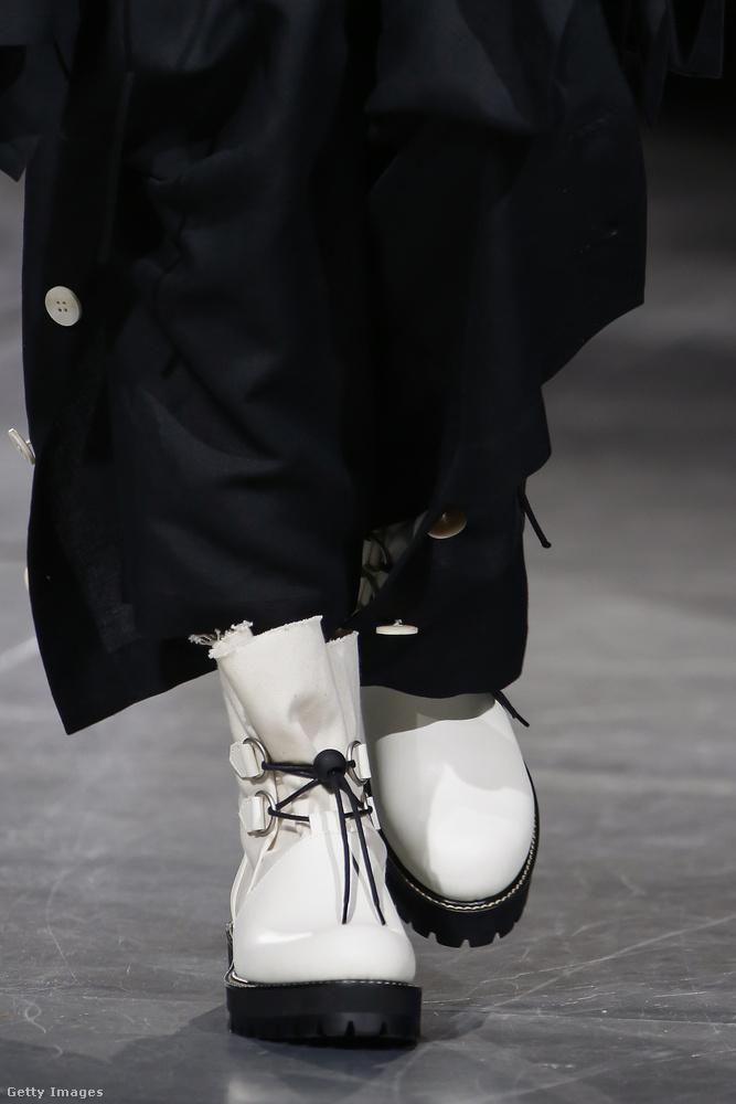 Csufi cipőkben izzadunk a  Yohji Yamamoto szerint is