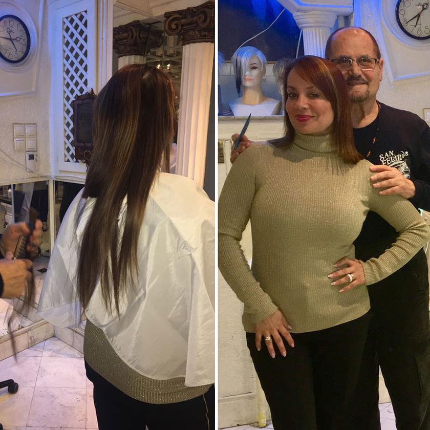 Köszönet Vasziliosz Papasz mesterfodrász barátomnak, aki több évtizede formálja a hajamat. Helló rövid hajszárítás, helló ősz!