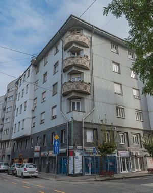 Ipoly utca 16. – Hegedűs Gyula utca 65., a Magyarországi Mintakészítő Munkások Szakegyesületének volt székháza, Vágó József, 1927–1928