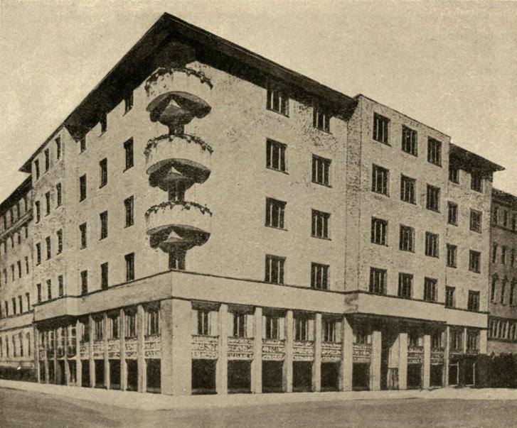 A Mintakészítők Otthonának korabeli felvétele, 1928