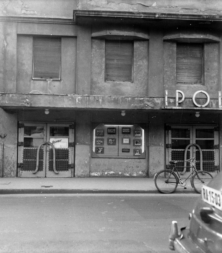 Ipoly mozi, 1961