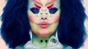Dehogy szörnypornó, csak Björk új albumborítója!