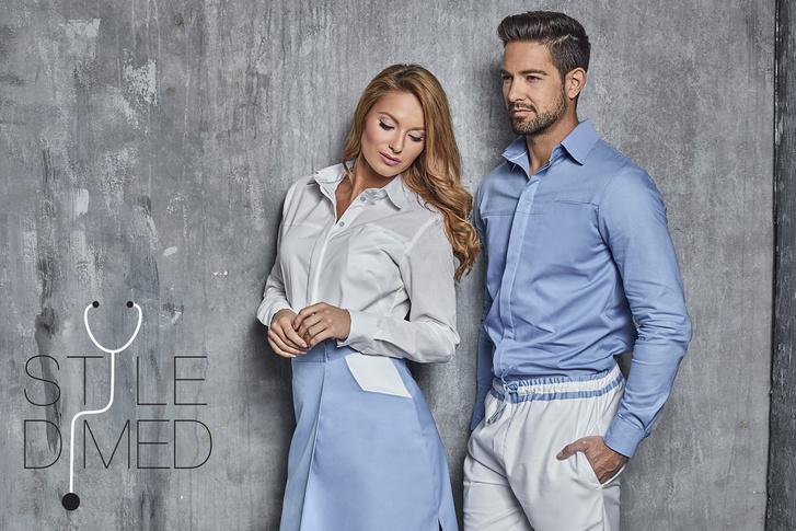 A Stile di MED kiváló minőségű ruhái egyedi és stílusos megjelenést kölcsönöznek az orvosoknak.