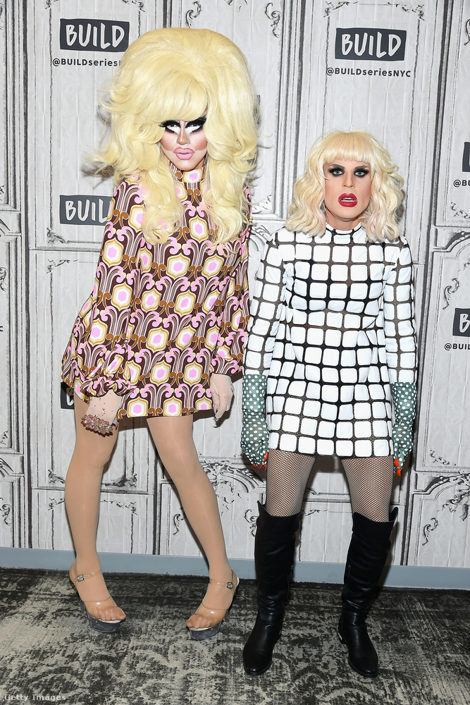 Teljes nevük:Trixie Mattel és Yekaterina Petrovna Zamolodchikova