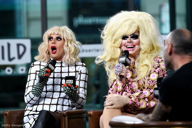 Ők ketten a RuPaul's Drag Race című travivetélkedőben tűntek fel a hetedik évadban, 2015-ben