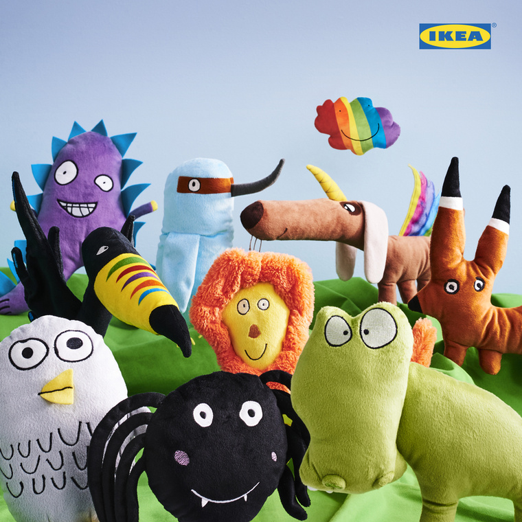 Az Ikea idén is 10 rajzot keltett életre, nem volt könnyű dolguk: összesen 70 ezer rajz közül választották ki ezeket