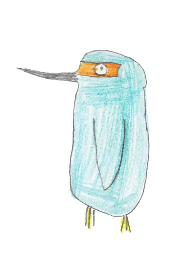 Ausztria - kék madár